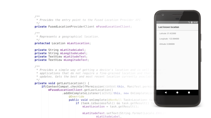 Android Fused Location Provider API